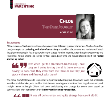 Chloe – The Care Journey