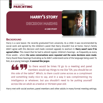 Harry – Decision Making
